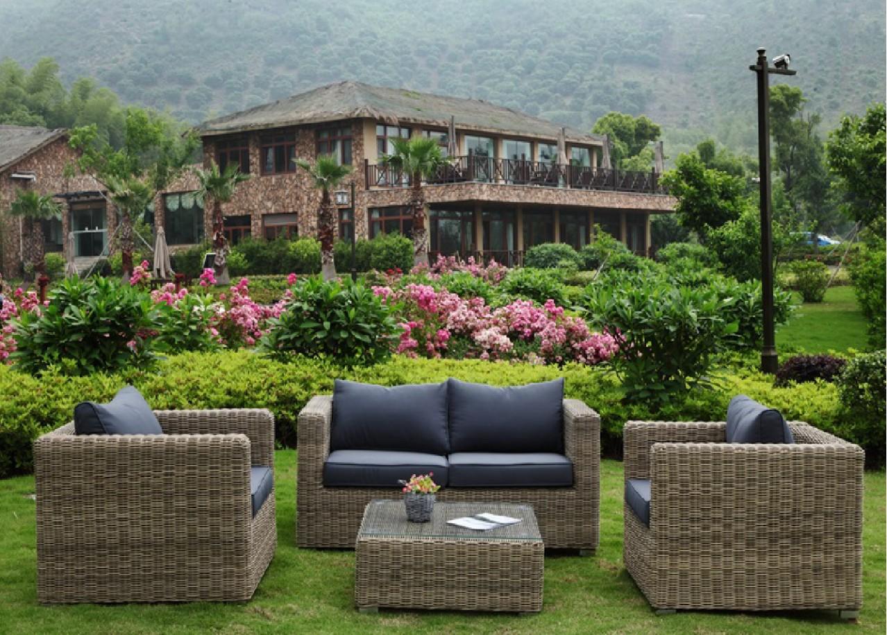 location salon de jardin en r sine tress e. Black Bedroom Furniture Sets. Home Design Ideas