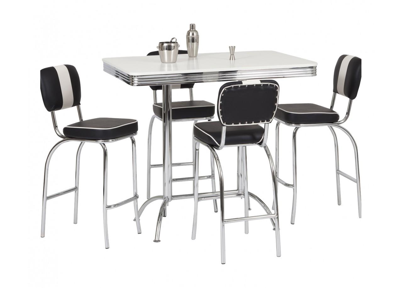 Rent Set high table + 4 stools ALTA : Kitchen tables Rental  Get ...