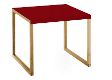 Table basse YOGA Rouge