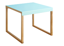 Table basse YOGA Bleu