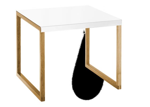 Table basse KARMA Blanc Carré