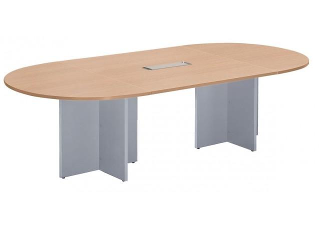Table de réunion LILA Ovale 560,0 cm