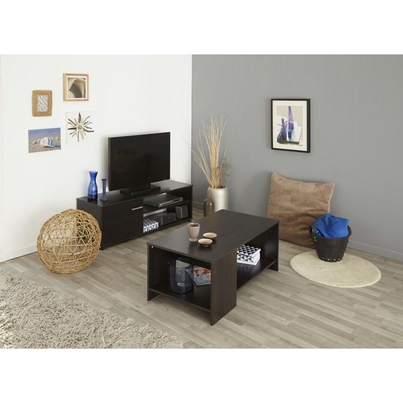 location meuble tv en bois lexi. Black Bedroom Furniture Sets. Home Design Ideas