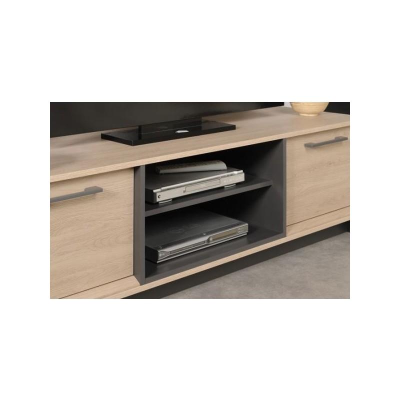 location meuble tv en bois edgar. Black Bedroom Furniture Sets. Home Design Ideas