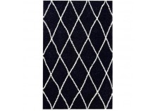Rug ALTO Black and white - 120 x 170 cm