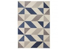 Rug MICHA Blue and beige - 120 x 170 cm